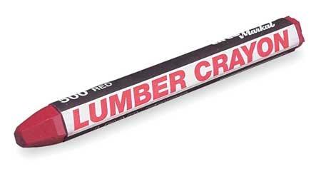 Lumber Crayon, -50 Deg to 150 Deg F, PK12