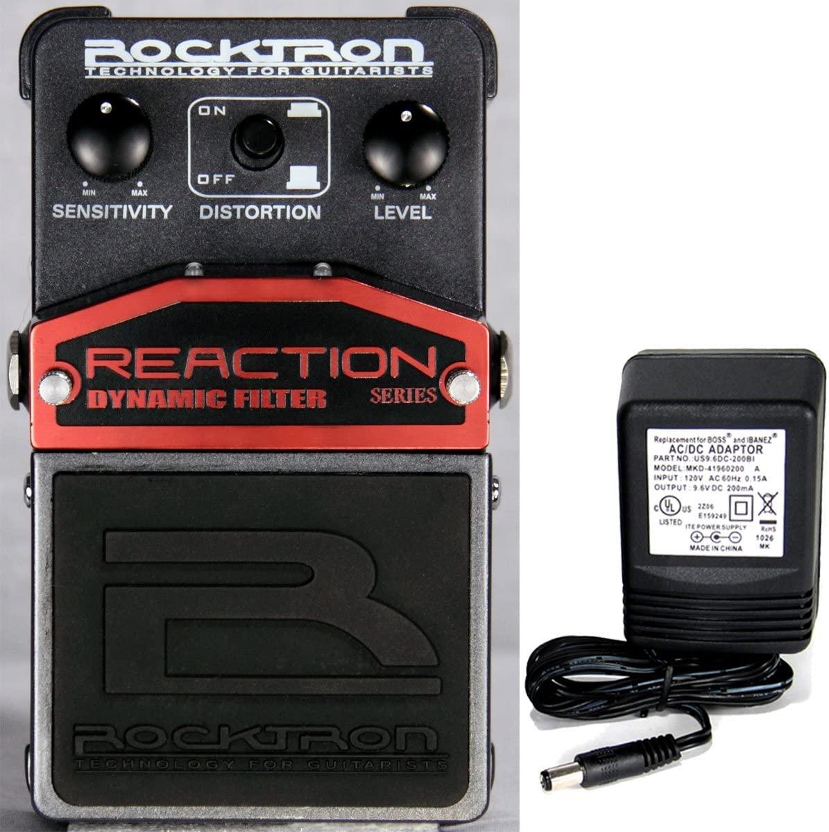 Rocktron Reaction Dynamic Filter Effect Pedal