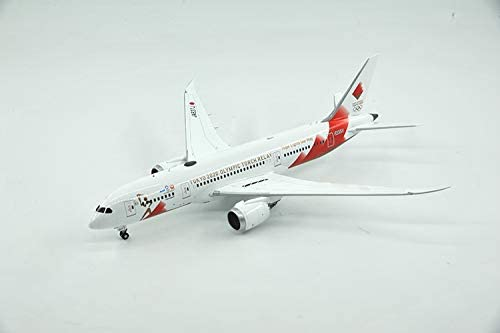 JC Wings Japan Airlines Tokyo 2020 Olympic Torch Relay Boeing B787-8 JA837J 1/200 diecast Plane Model Aircraft