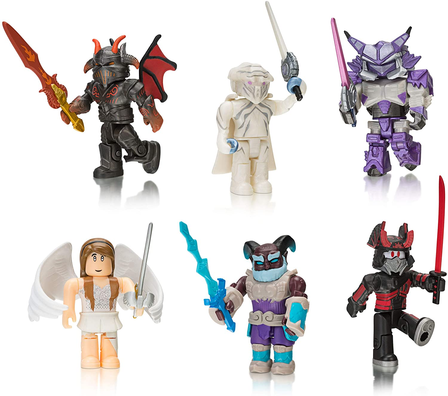 Roblox Action Collection - Summoner Tycoon Six Figure Pack [Includes Exclusive Virtual Item]