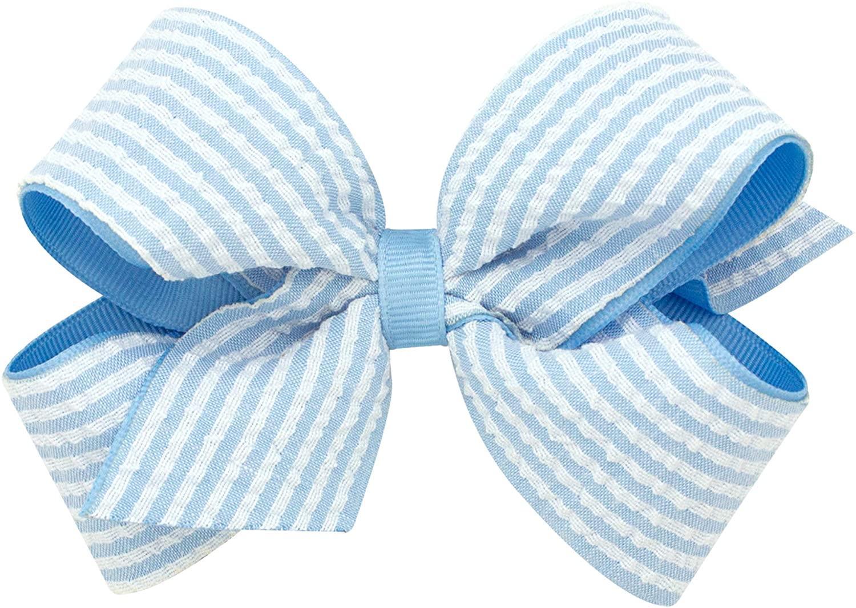 Wee Ones Girl's & Baby Girl's Seersucker Bow, Multiple Sizes