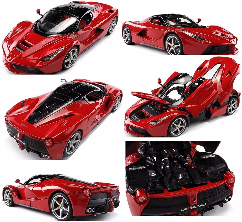 Bburago 1:18 FERRARI Signature Series LAFERRARI Diecast Car Red 18-16901RD