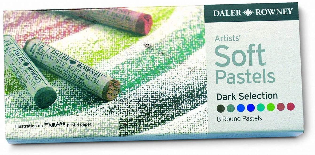 Daler Rowney Dark Soft Pastel Set (Pack of 8)