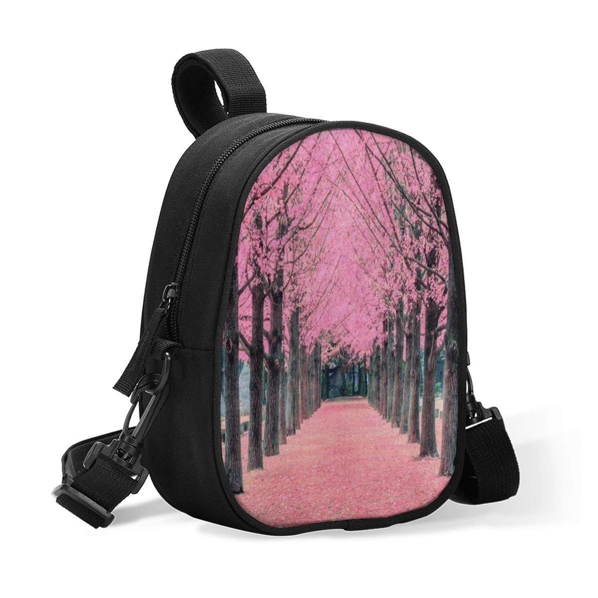 Breastmilk Cooler Bag Insulated Baby Bottle Bag Pink Cherry Blossom Sakura Flower Tree Reusable Baby Bottle Warmer Tote Bag Handbag Lunch Bag Box for 2 Large Bottles for Nursing Mom, Stroller
