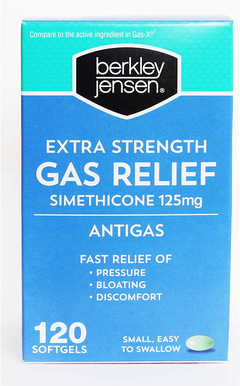 Berkley Jensen Extra Strength Gas Relief Softgels, 120 ct. (pack of 2)