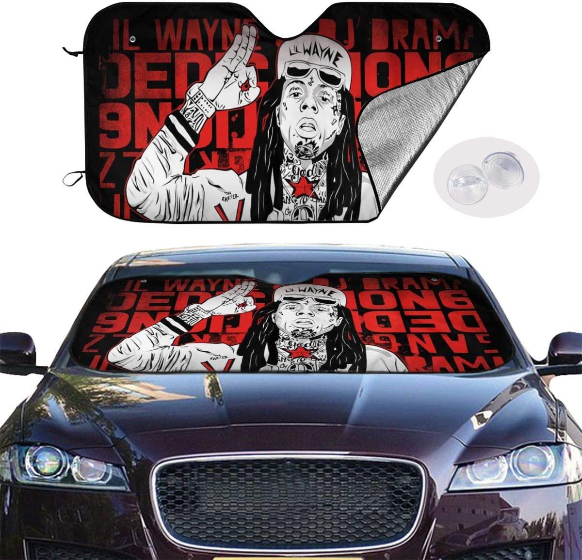 NOT Lil Wayne Universal and Stylish Car Windshield Visor