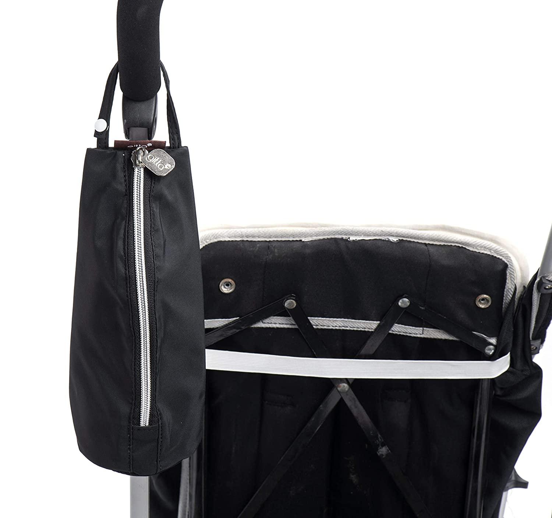 Gitta Baby Travel Thermal Bottle Holder Keep Warm/Cold Cover, Black