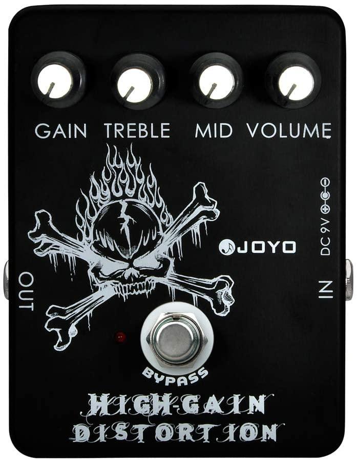 JOYO JF-04 High Gain Distortion Pedal Guitar Effects Pedal True Bypass Design