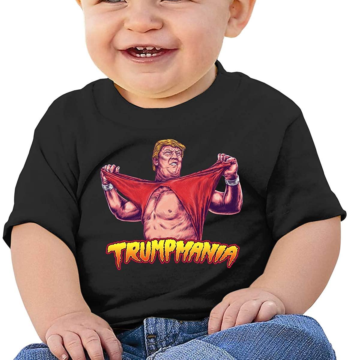 MNBVCXZ Baby Trump Amania 100% Cotton Jersey Short Sleeve Tee Boy Printed Tops