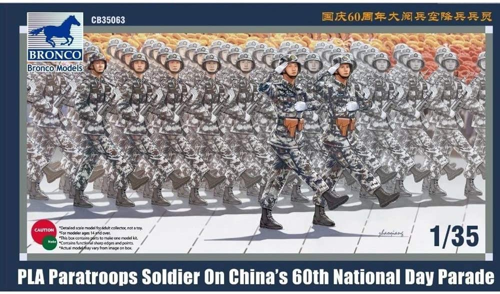 Bronco Models CB35063 – Figurines Pla Parat Roops Soldier National Day