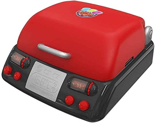 Kids BBQ Grill Pretend Playset Kitchen Pretending Play Toys Electric Barbecue Tool Funny Gifts (Color : Red, Size : As Shown)