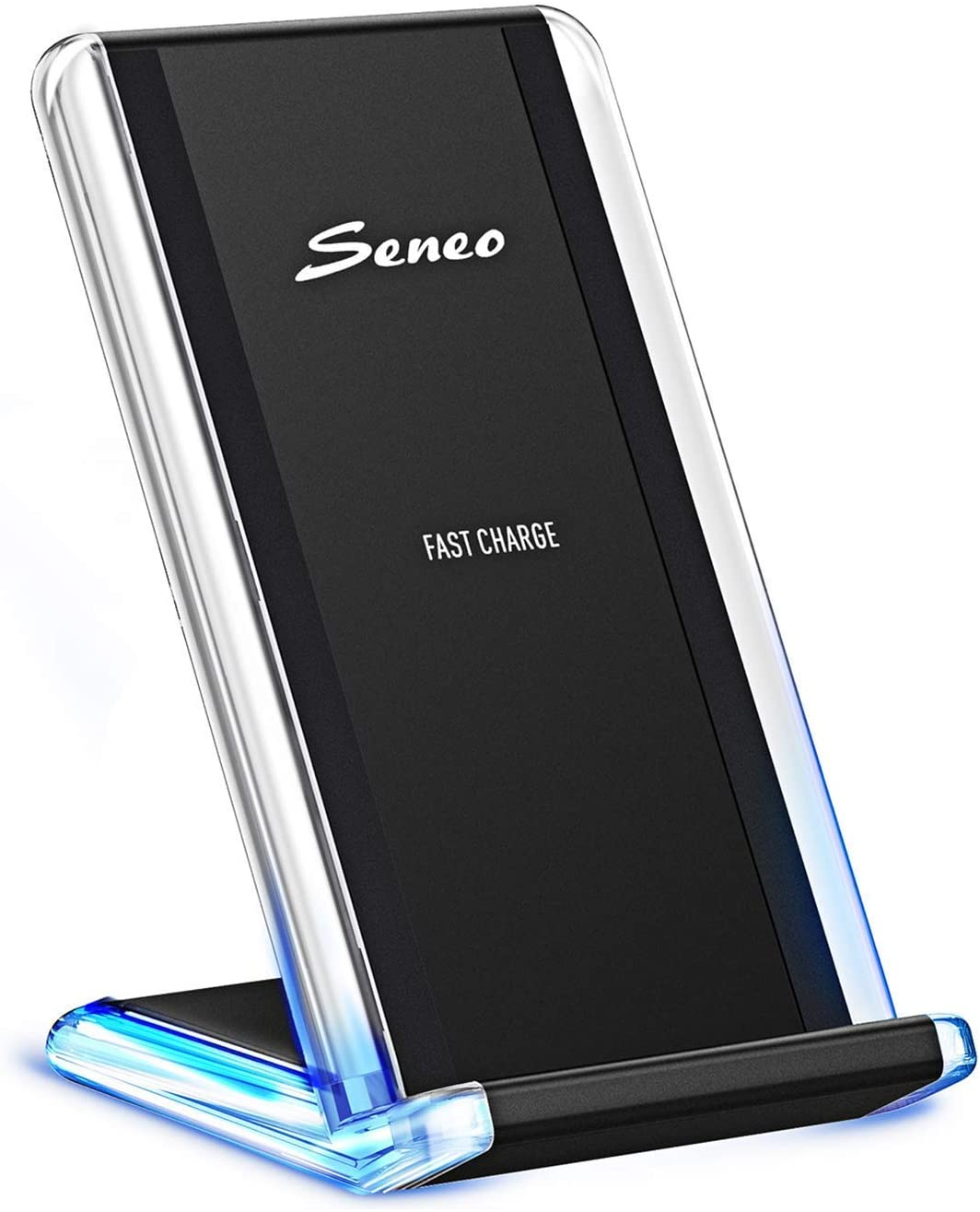 Wireless Charger, Seneo 7.5W Wireless Charger Compatible iPhone 11/Pro Max/XR/XS Max/XS/X/8/8P, 10W for Galaxy S10/S9/S8/Note 10/Note 9/Note 8 (No AC Adapter)