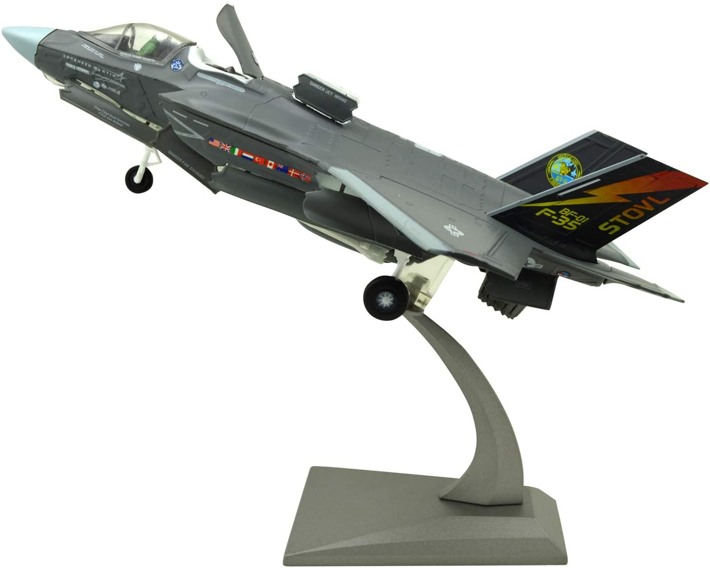TANG DYNASTY(TM) 1:72 F-35B Joint Strike Fighter Metal Plane Model,US Navy, Military Airplane Model,Diecast Plane,for Collecting and Gift