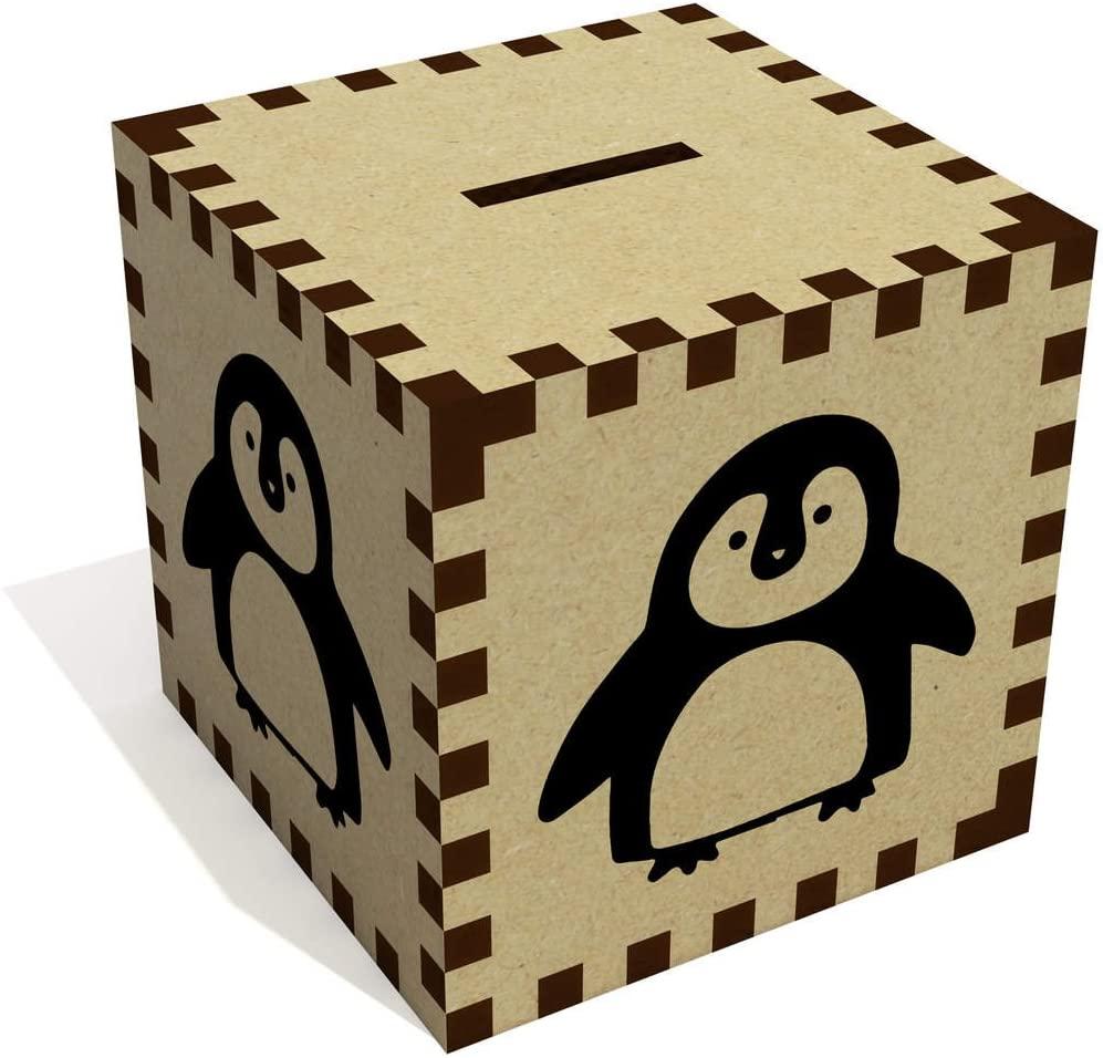 Azeeda Cute Penguin Money Box / Piggy Bank (MB00052083)