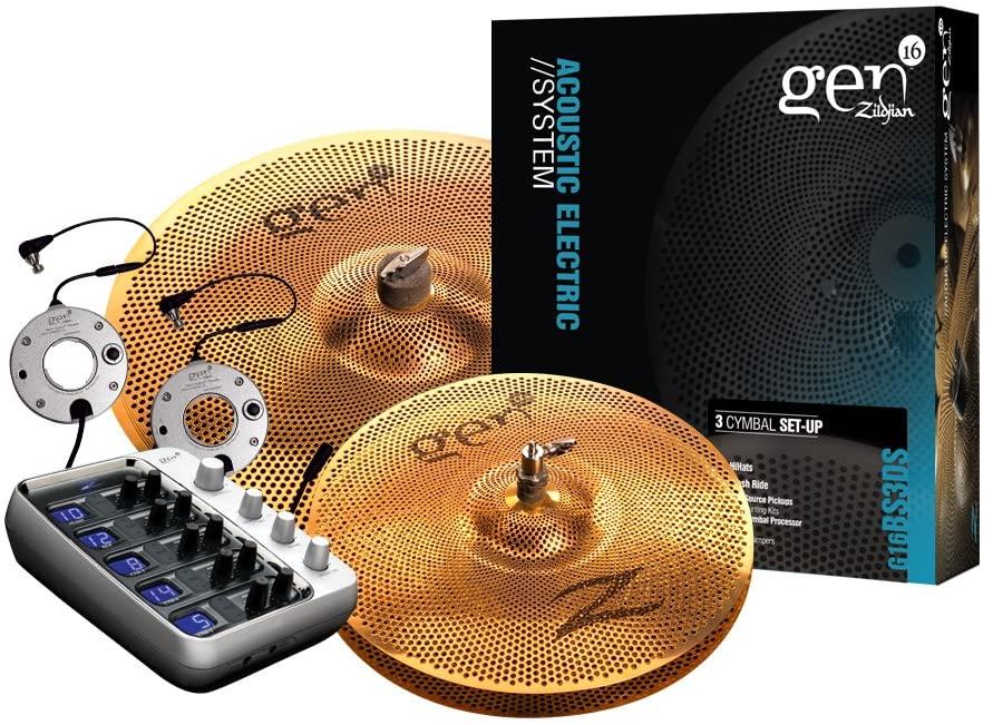 Zildjian Gen16 Buffed Bronze 13/18 Cymbal Set
