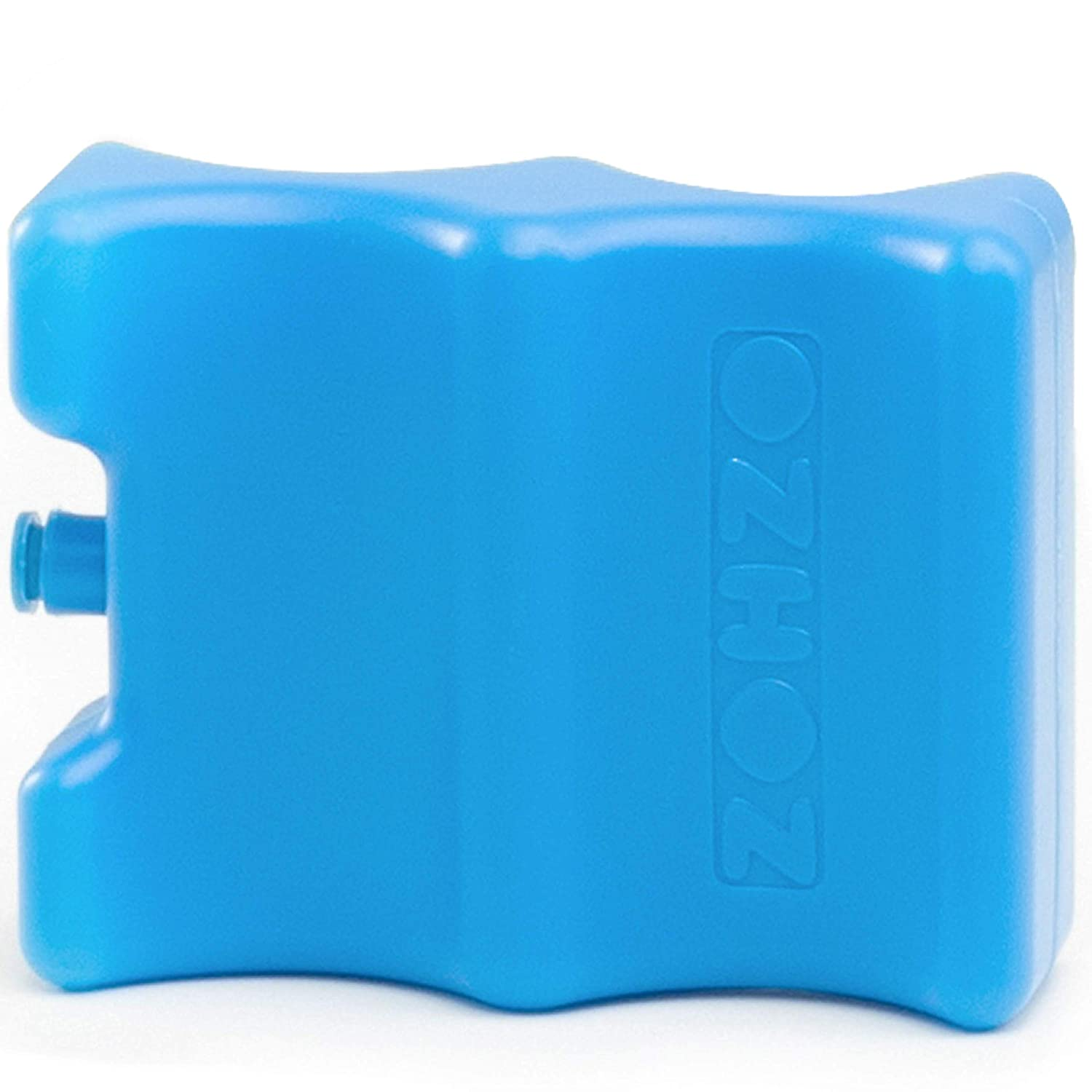 Zohzo Breastmilk Ice Pack - Contoured Ice Pack for Baby Bottle Storage in Milk Cooler (Small, 1 Pack)