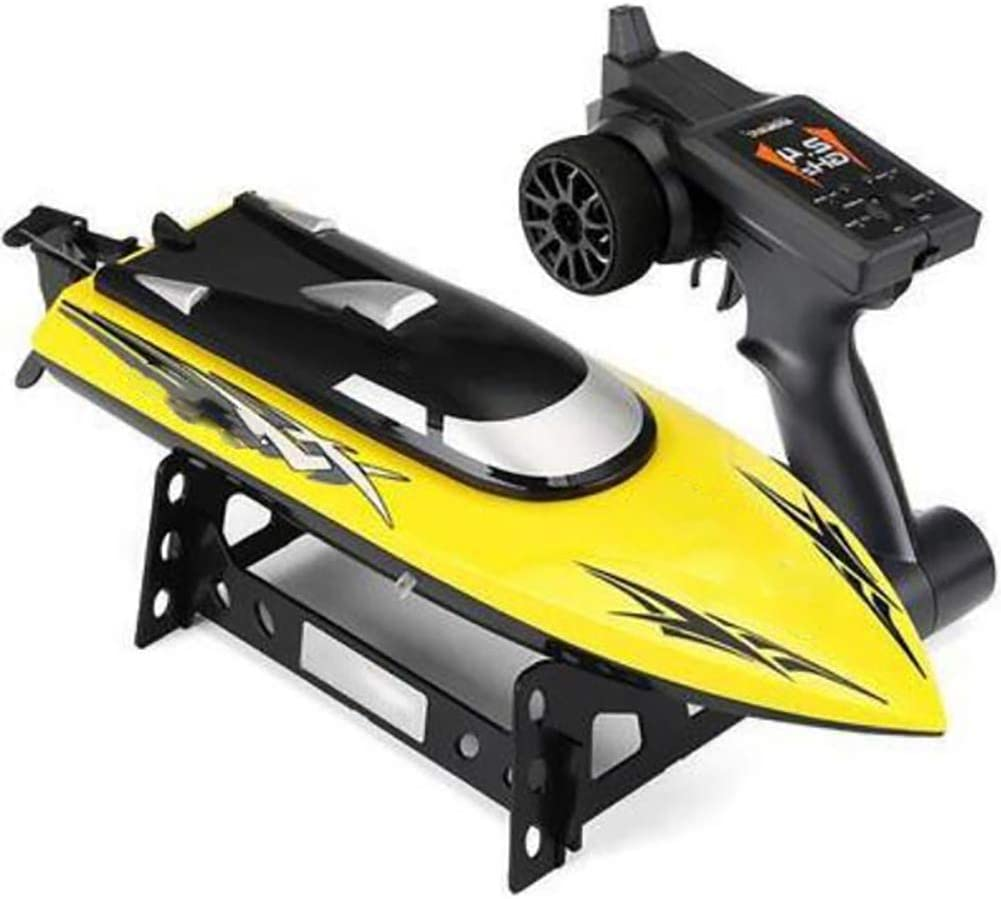 XIHAI Remote Control Boat Cooling System Rc Boat 2.4GHz Ultra-Long Distance 150m Toy Boat Water Induction Fast Rc Cars fpr Childrens Adult Toys,Yellow