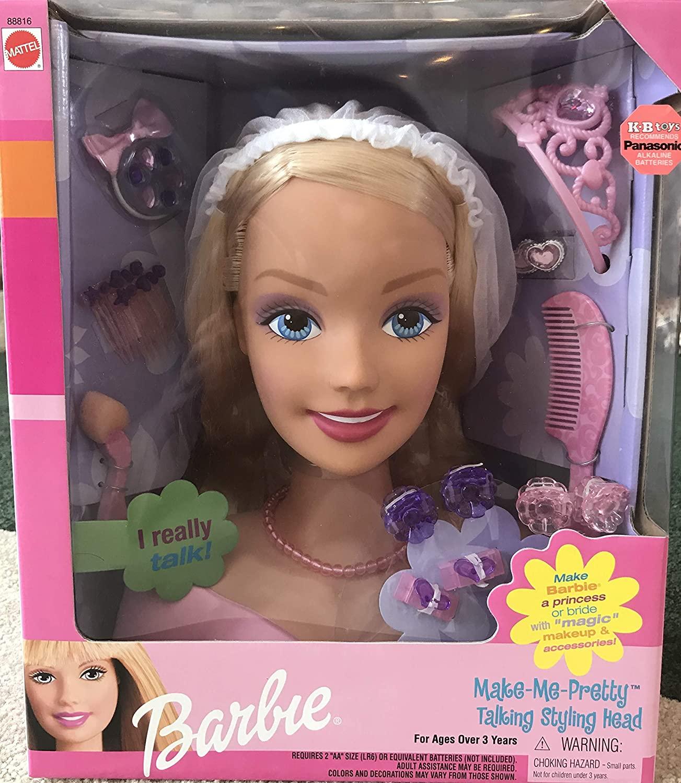 Barbie Styling Head Make Me Pretty Mattel