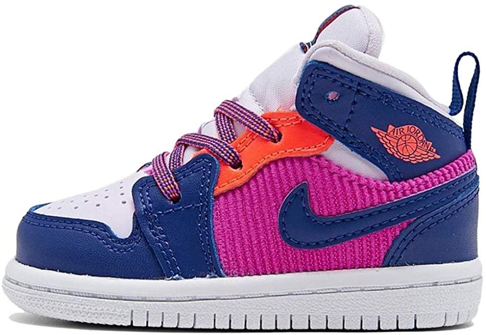 Nike Jordan 1 Mid (td) Fashion Sneaker Toddler 644507-602