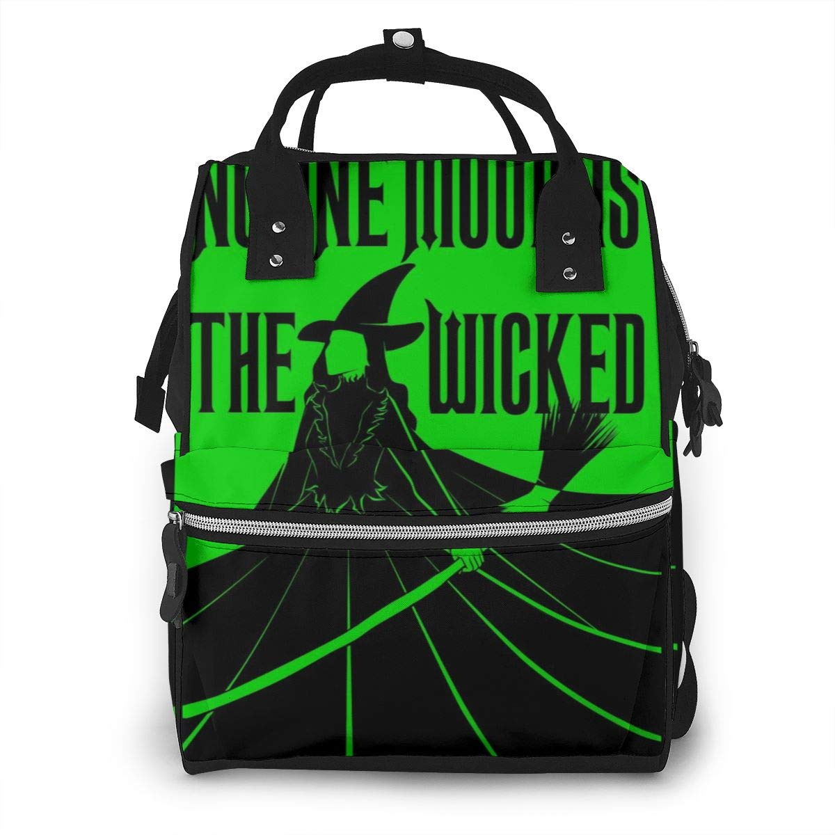 Wicked The Musical Diaper Bag Multi-Function Waterproof Travel Backpack Nappy Bags for Baby Care Mummy Backpack