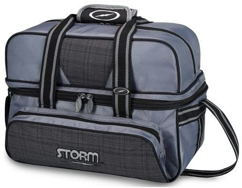 Storm S25127 Bowling Bag, Charcoal/Plaid/Black,