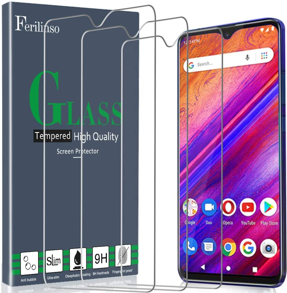 Ferilinso Screen Protector for BLU G9, [3 Pack] Tempered Glass for BLU G9 Screen Protector