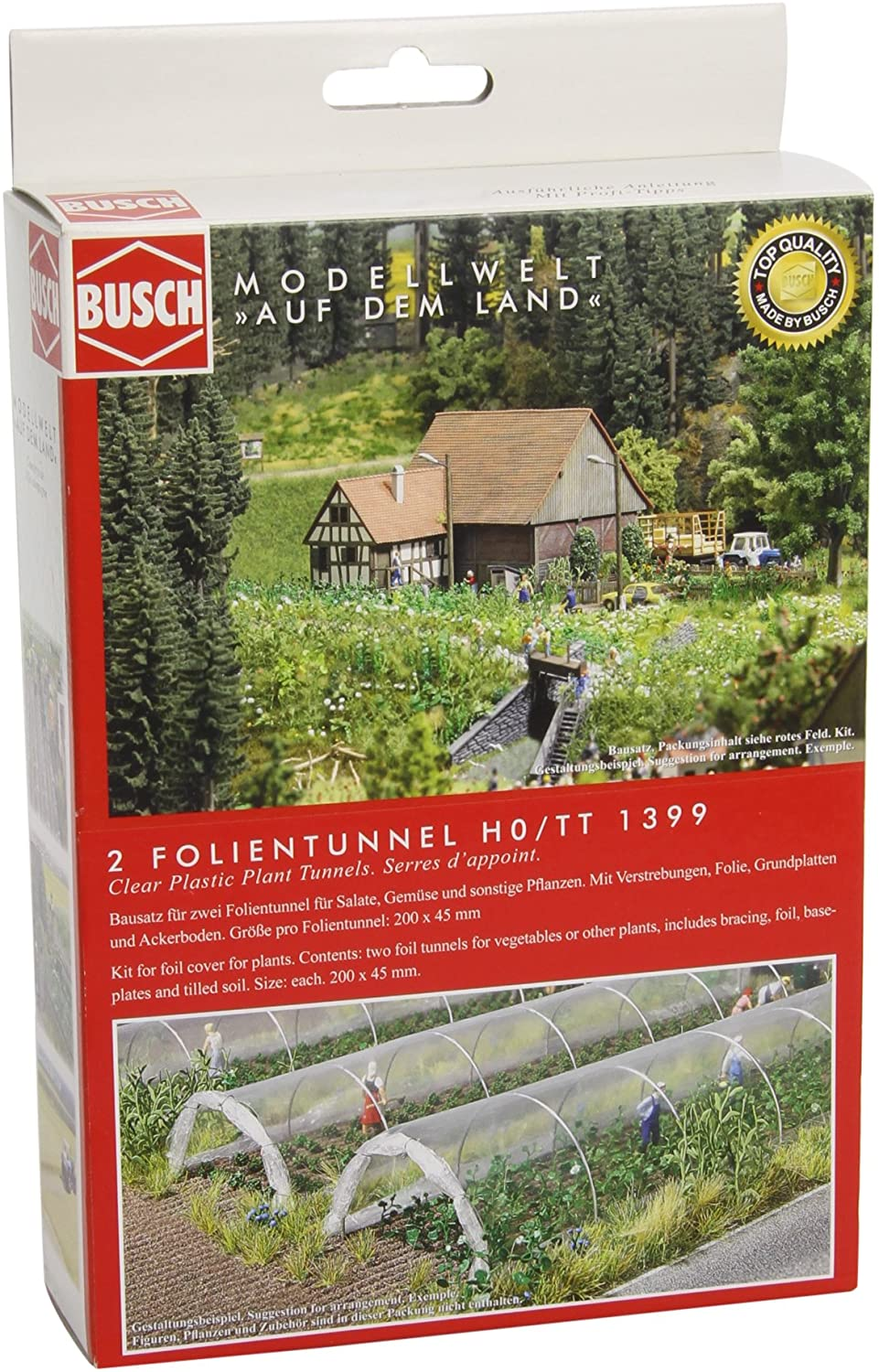 Busch 1399 Foil Cover for Plants HO Scenery Scale Model Scenery