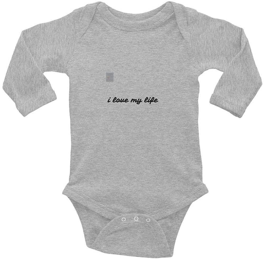 (I Love My Life) Infant Long Sleeve Bodysuit