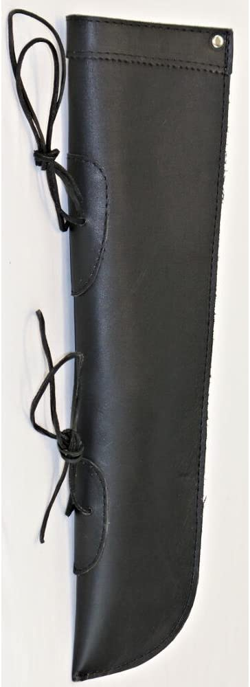 Evergreen Workshop Leather Bass Bow Quiver Black