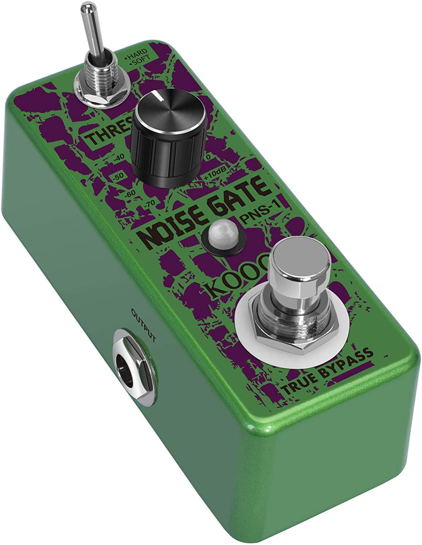 Koogo Guitar Noise Gate Pedal Noiser Killer Pedals For Electric Guitars Guitarist Basic Suppression Noises Effect Pedal
