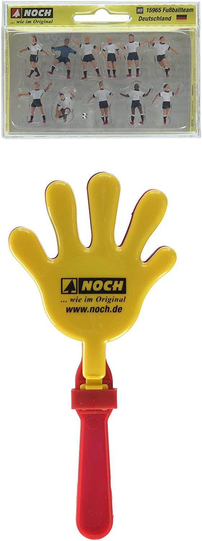 Noch 15964 German Team W/Clapp Hand H0 Scale Figures