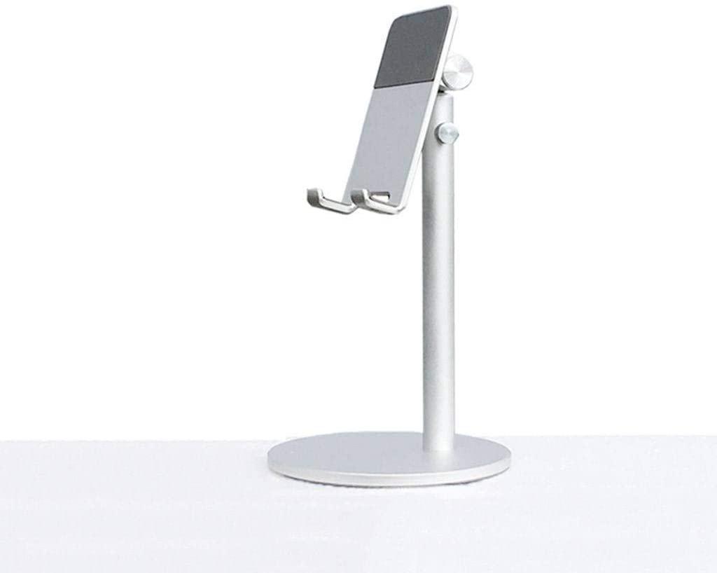 Foldable Mobile Phone Desktop Stand Portable Metal Flat Support Adjustable Lazy Support-N