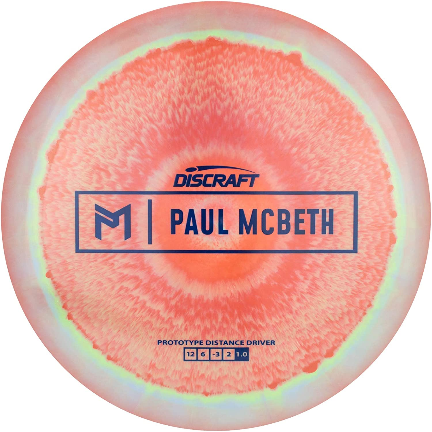 Discraft Limited Edition Paul McBeth Signature Prototype ESP Hades Distance Driver Golf Disc [Colors May Vary]