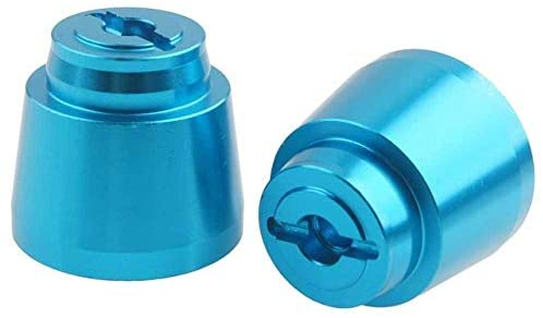 Parts & Accessories RC AX31011 Aluminum Rear Wheel Hex for Axial 1:10 Yeti 90068 90050 - (Color: Blue)