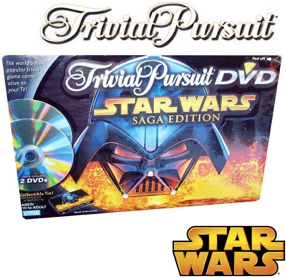 Trivial Pursuit DVD Star Wars Saga Edition