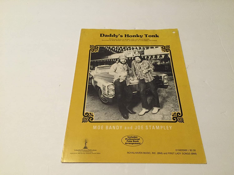 Daddy's Honky Tonk Sheet Music