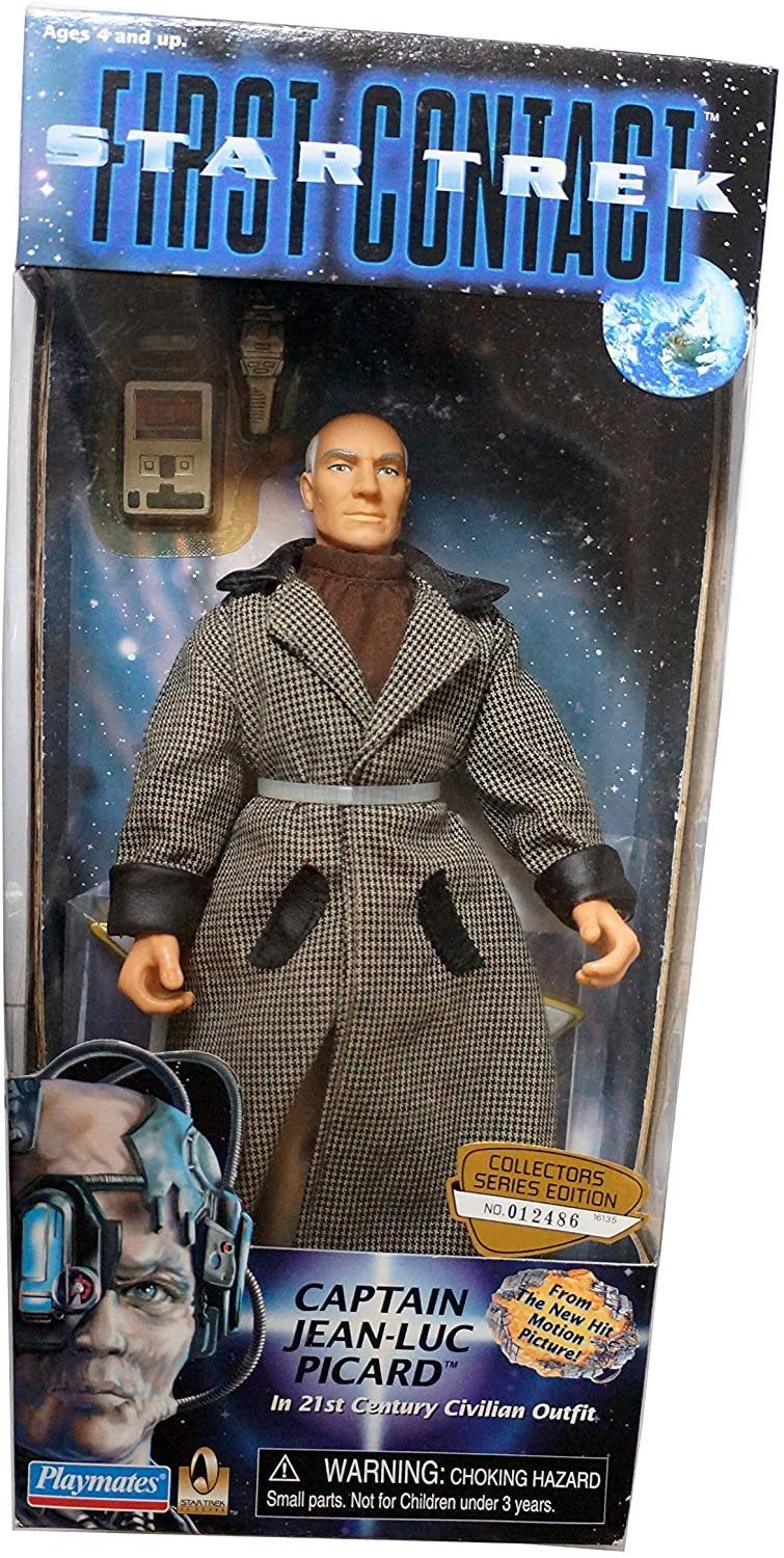 Star Trek First Contact Captain Jean-Luc Picard in 21st Century Civilian Outfit