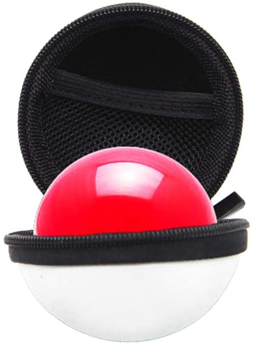 Hot 🔥 Poke Ball Protective Cover Portable 2In1 Case Cover, for Nintendo Switch Poke Ball Plus Controller Eevee Game Bag with Keychain, Classic Hot Toys Kids Poke Ball Cover (B)