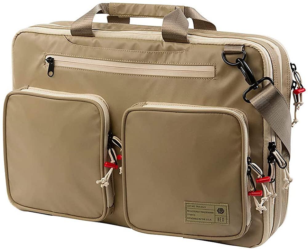 HEX Unisex Terra Expandable Briefcase