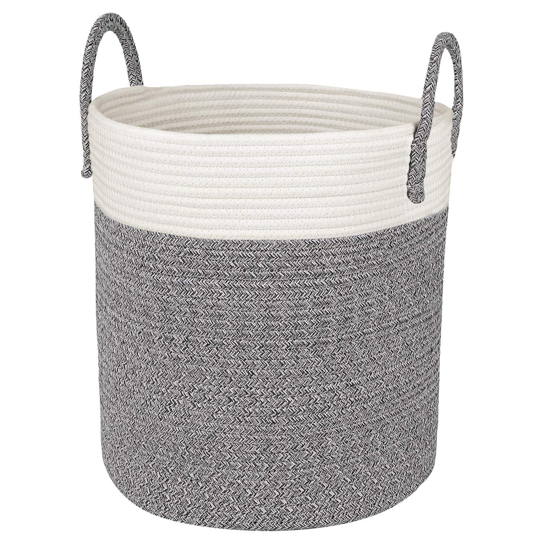 CherryNow Medium Cotton Rope Basket – 13