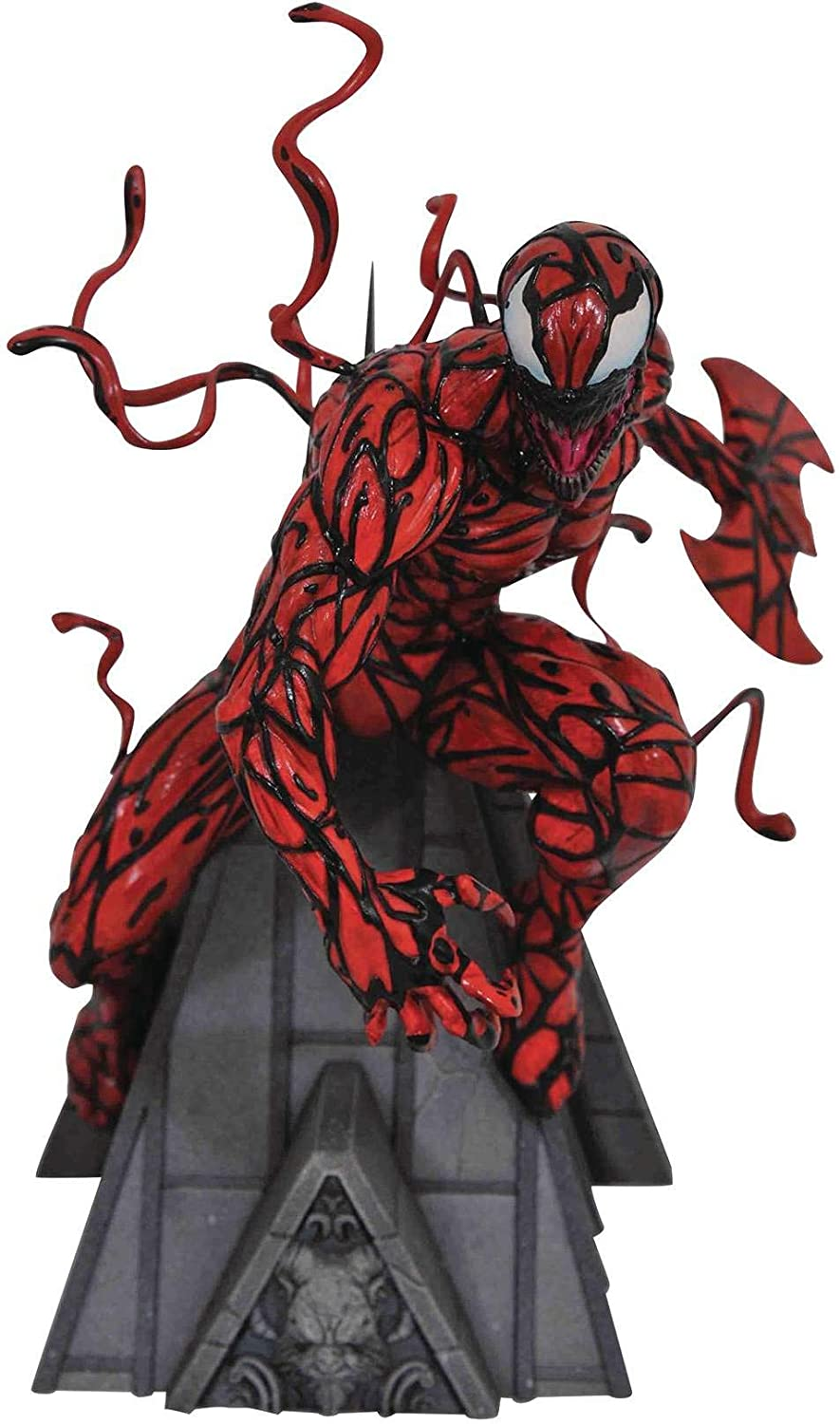 DIAMOND SELECT TOYS Marvel Premier Collection: Carnage Resin Statue,Multicolor,12 inches