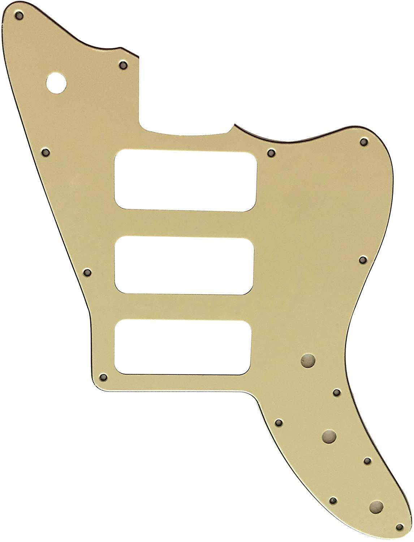 Guitar Parts For Fano Standard JM6 P90 3 Pickup Style Guitar Pickguard