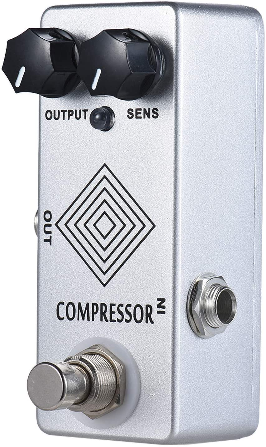 YMUZE MOSKY Dynamic Compressor Pedal Guitar Effect Pedal with 100% analog signal path