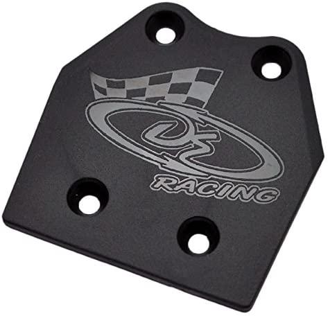 DE Racing 210HB XD Rear Skid Plate for Hot Bodies D8, D8T, Vorza