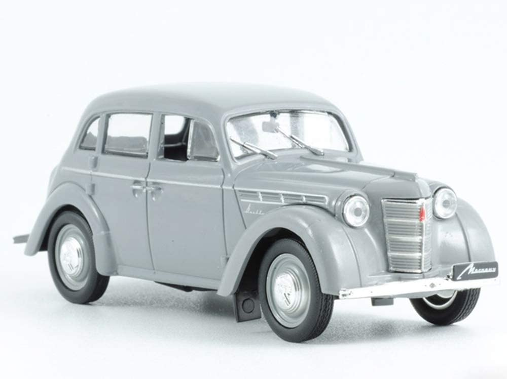 Moskvitch 401 Gray 1954 Year Soviet Compact Sedan USSR 1/43 Scale Collectible Model Car