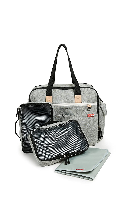 Skip Hop Women's Duo Signature Diaper Weekender Bag, Grey Melange, One Size