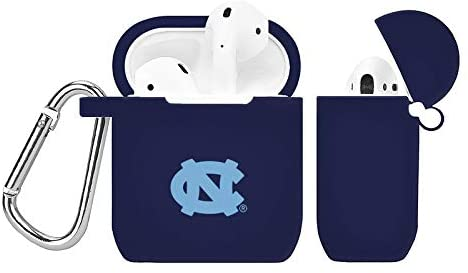 AFFINITY BANDS North Carolina Tar Heels Silicone Case Cover Compatible with Apple AirPods Battery Case