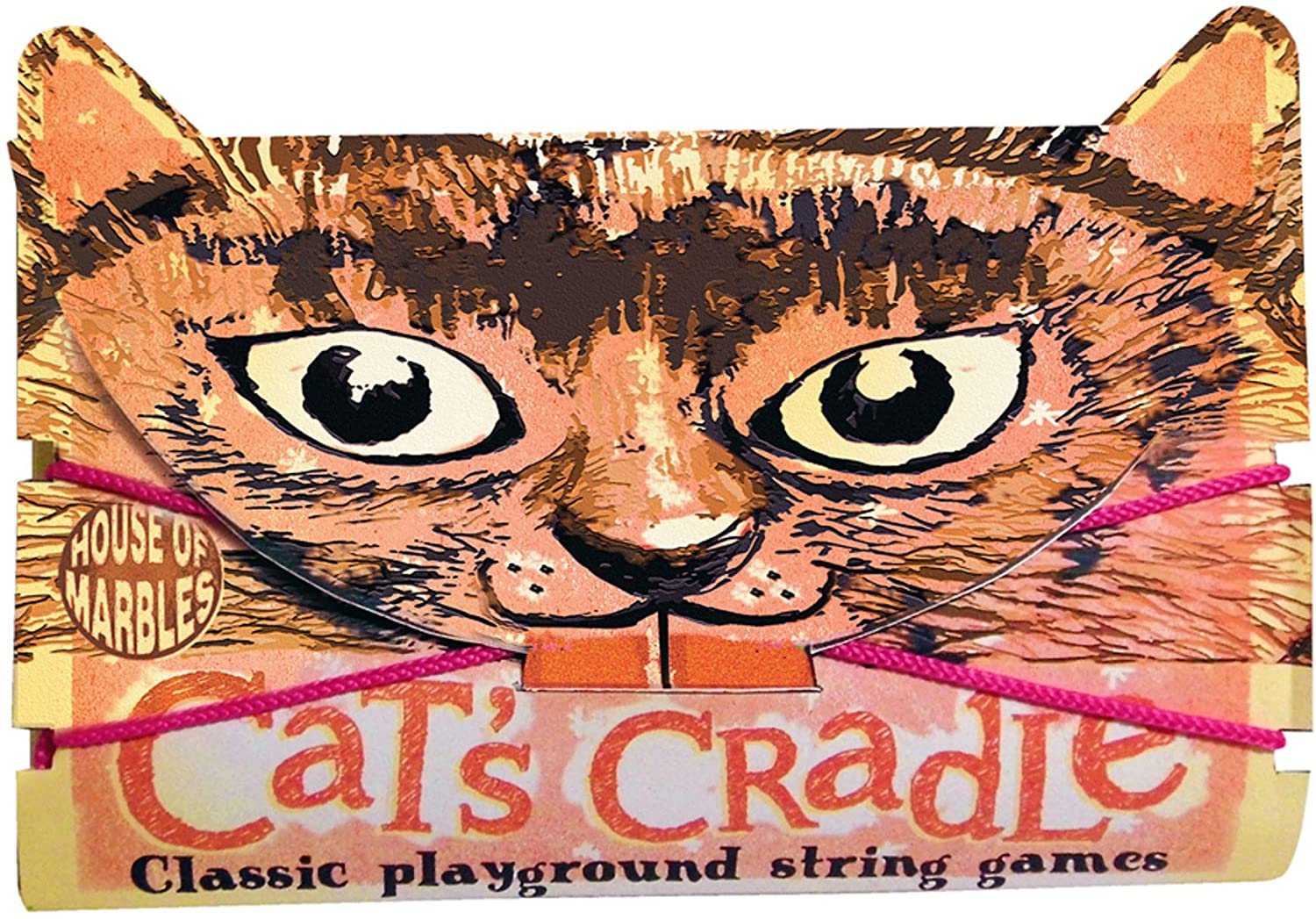 House of Marbles Cat's Cradle Classic Playground String Game