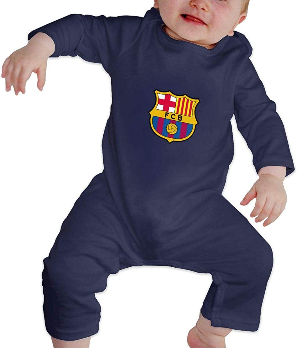 JCZZ Juventus Baby Jumpsuit Cotton Baby Crawl Suit Long Sleeve Bodysuit