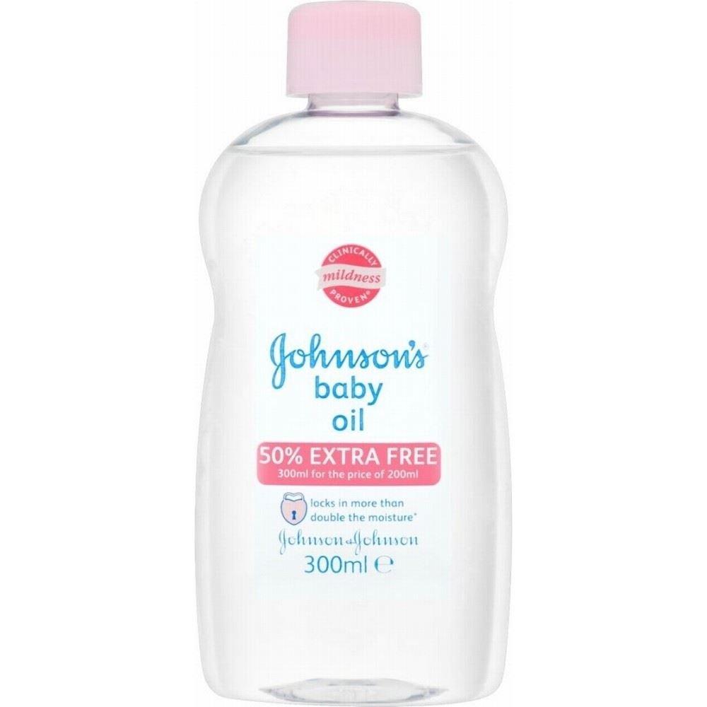 Johnson's Baby Oil (300ml)